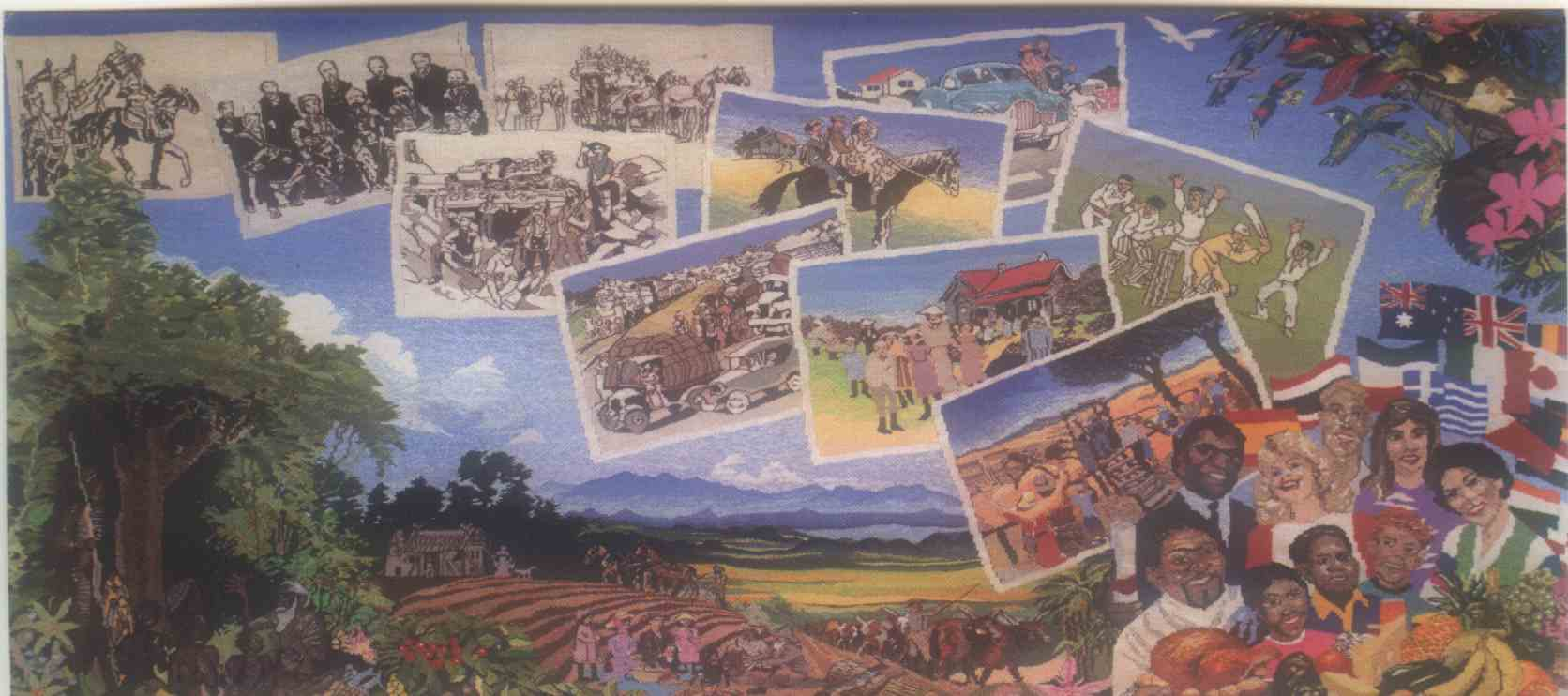 Centenary of Federation Tapestry Project